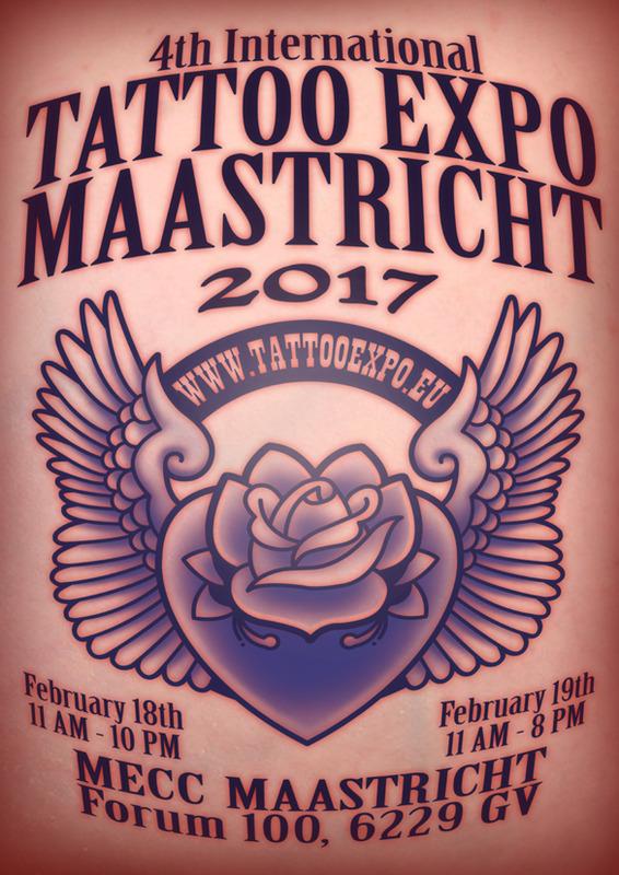 Maastricht Tattoo Conventie 2017